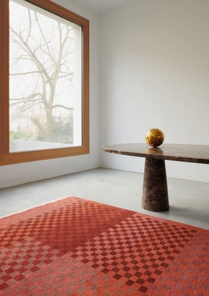 Die Verwendung von tibetischer Hochlandwolle macht die Reuber Henning-Teppiche besonders langlebig.