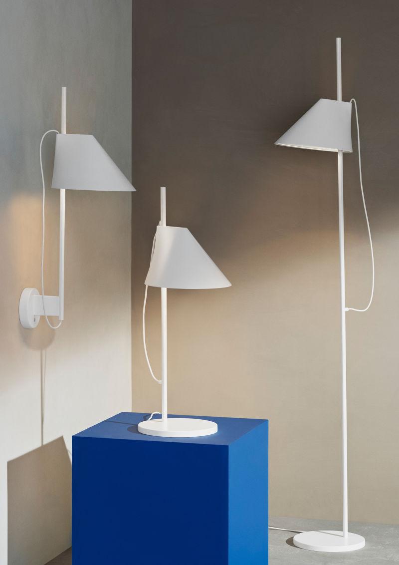 """""""Yuh"""" von GamFratesi für Louis Poulsen; die Formsprache erinnert an Arne Jacobsens """"AJ"""", das Leuchtmittel sieht man – wie bei Leuchten von Poul Henningsen – nicht."""