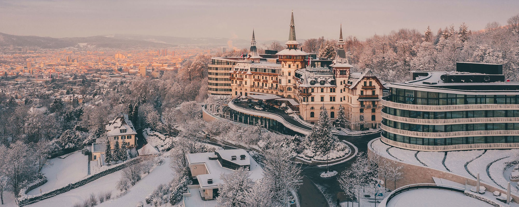 The Dolder Grand, Zürich, Schweiz, Hotel, Grandhotel, Winter