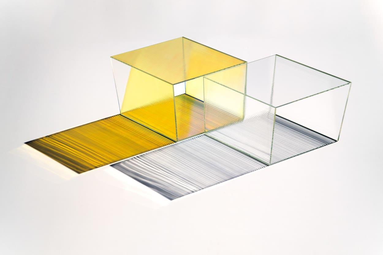 Neo Craft, Beistelltisch, Glas