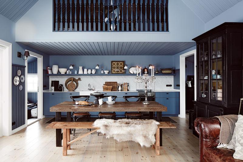 Island Hafnarskógur Küche