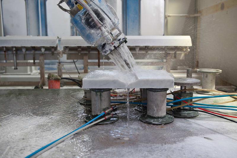 Marmor-Fabrik Montalcino