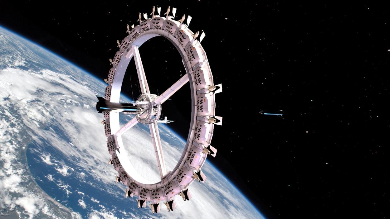 """Die """"Voyager Station"""" könnte das erste Weltraumhotel werden."""