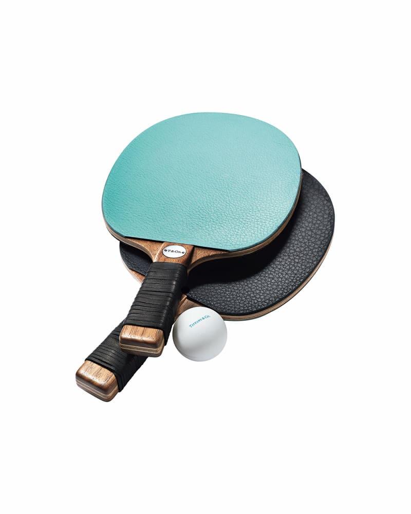 Tischtennisschläger, Tiffany & Co.