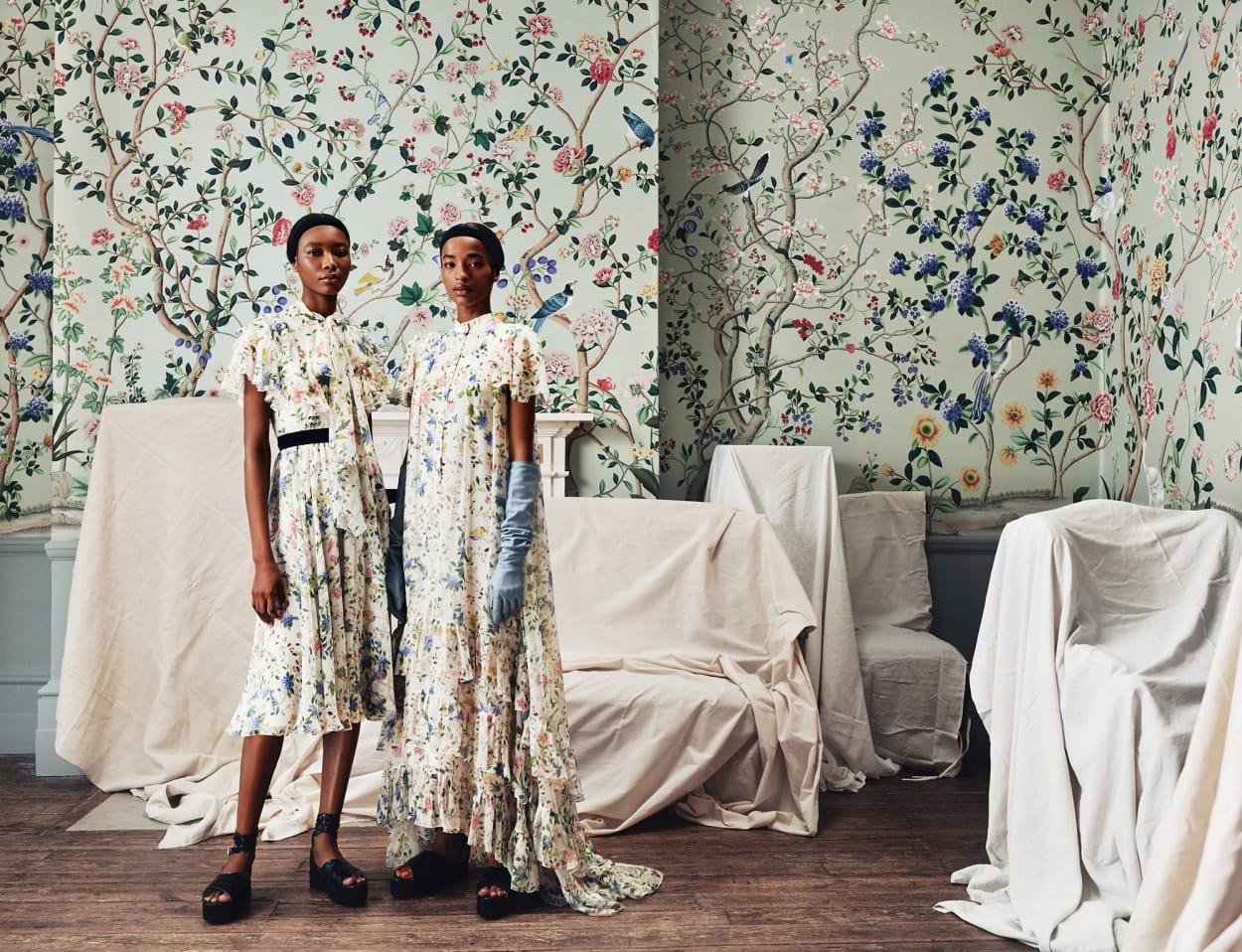De Gournay, Erdem, Wallpaper, Campaign