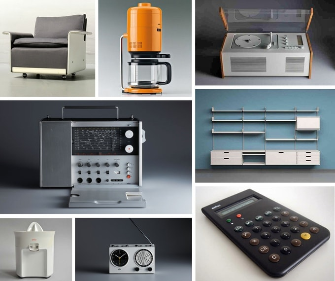 Produkte von Dieter Rams