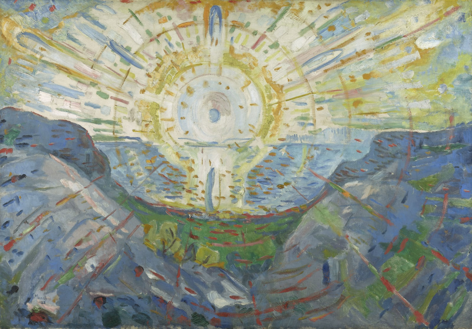 """""""Die Sonne"""" (1912) von Edvard Munch"""