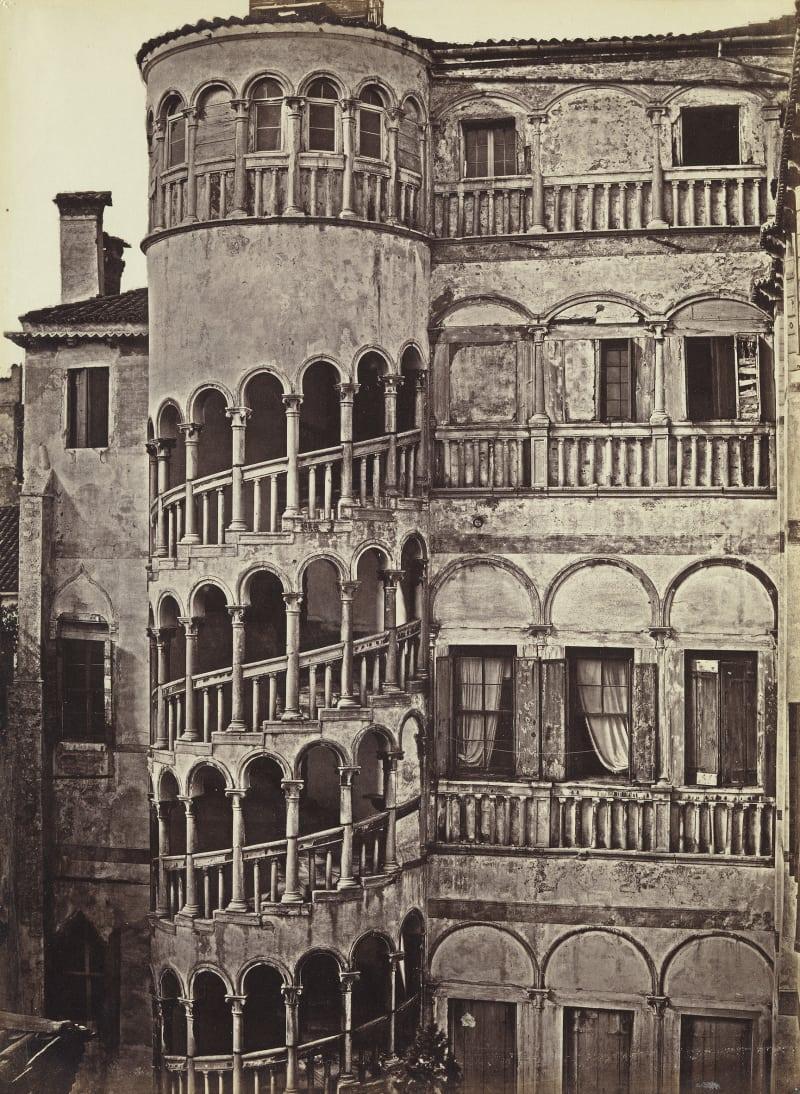 Domenico Bresolin (1813-1900), Palazzo Contarini del Bovolo, um 1851/55