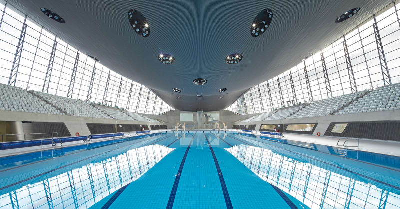 18. Aquatics Centre, London