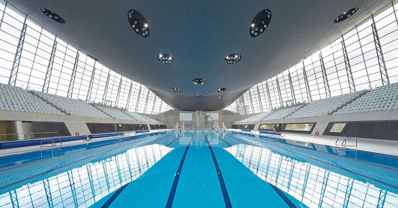 18. Aquatics Centre, London
