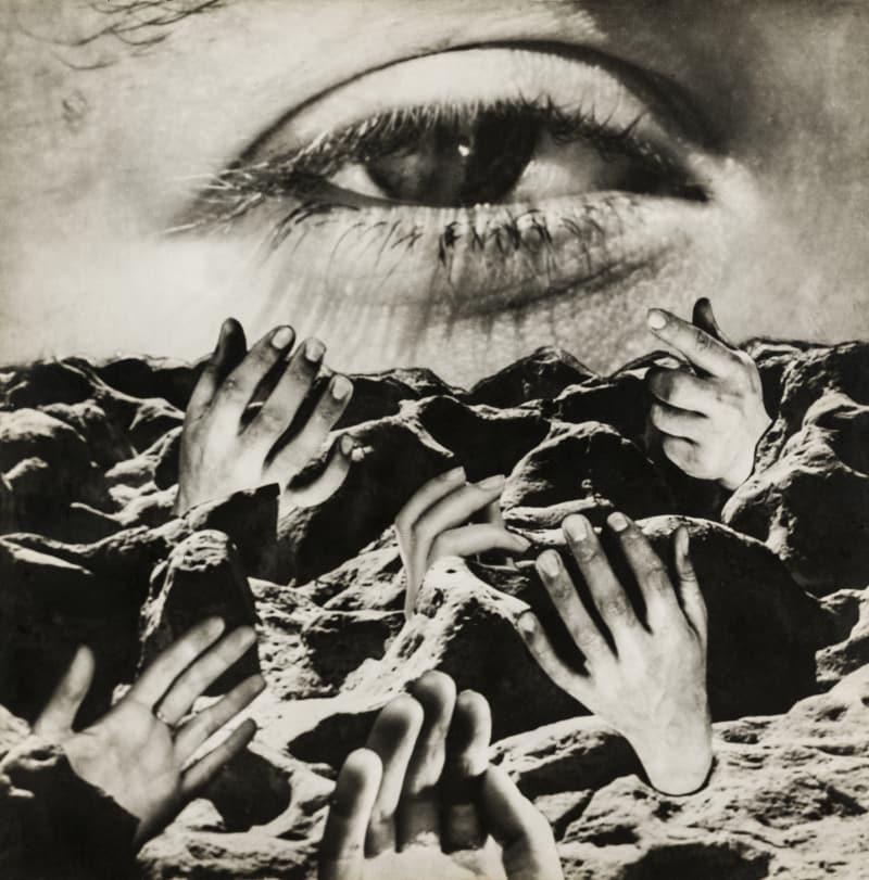 Grete Stern, Das Ewige Auge, um 1950, Fotomontage