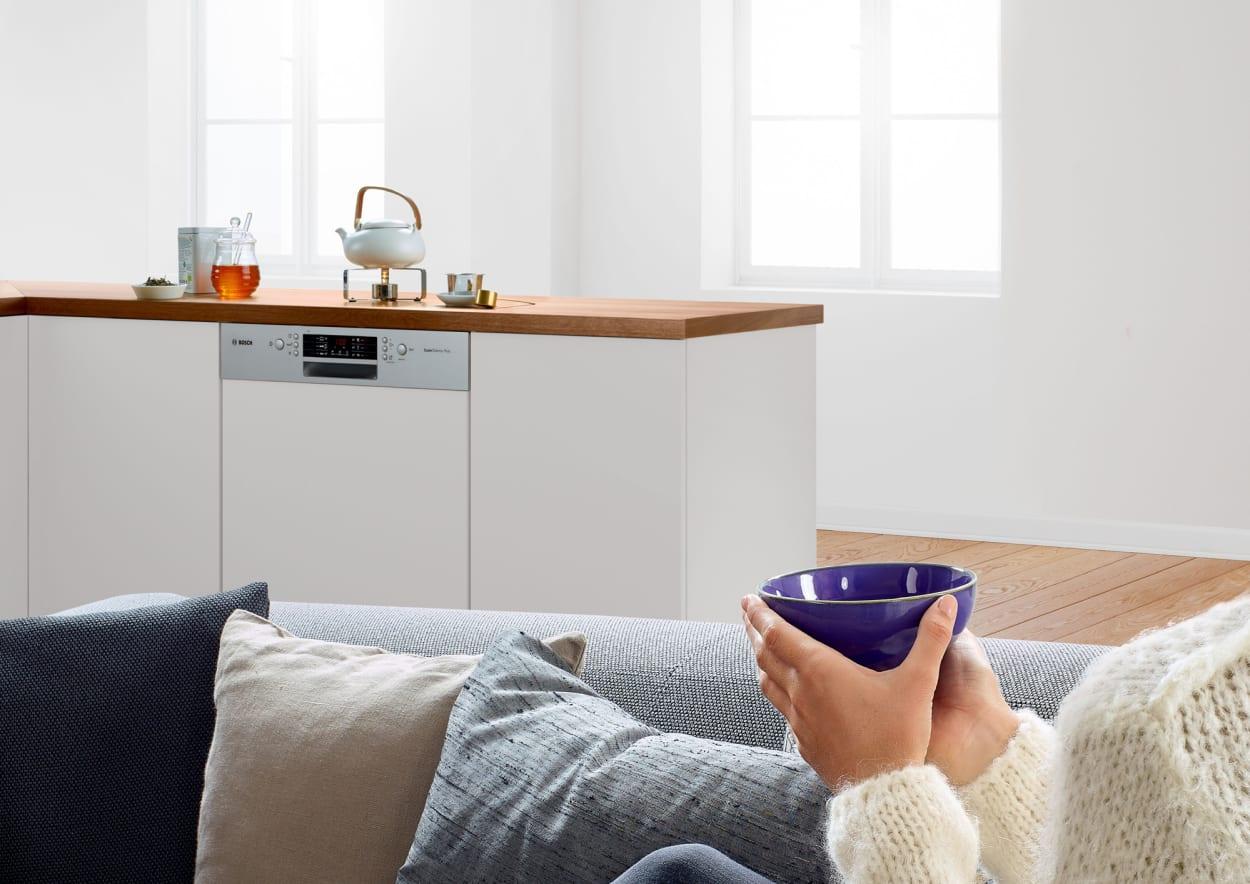 Spülmaschine, Geschirrspüler, Küche, Bosch