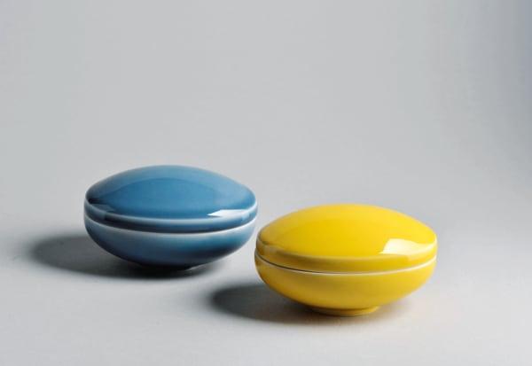 Box Nr.36 gibt es in blau und gelb für jeweils 260 Euro.