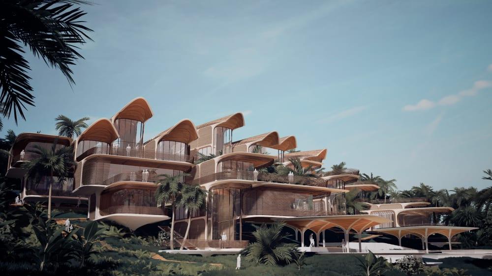 Zaha Hadid Architects plant revolutionär ökologische Häuser in der Karibik