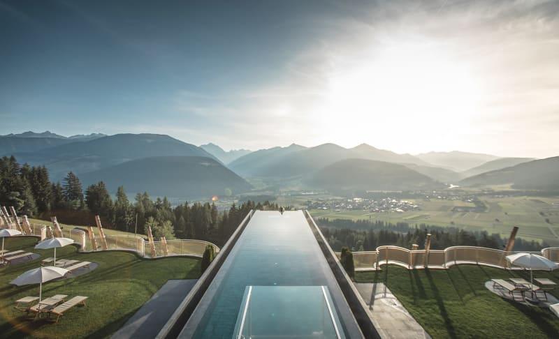 "9. Italien, ""Alpin Panorama Hotel Hubertus"""