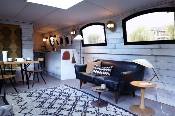 Die Gestaltung der Räume des Hotel-Boots übernahm Interior-Stylistin Laura Fulmine.