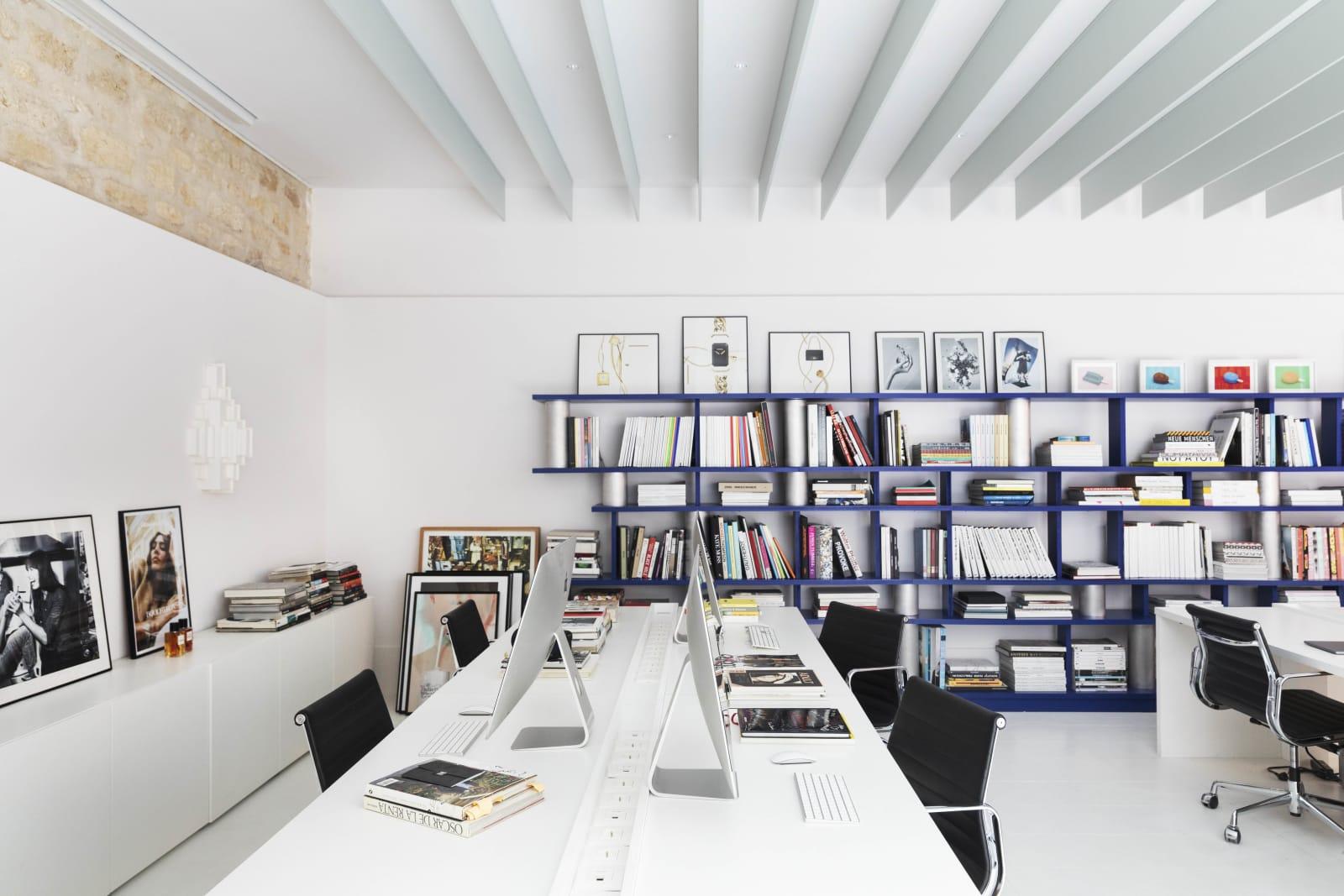 Büro von Al Dente in Paris