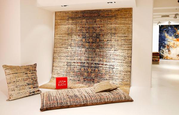 Auf 220 Quadratmetern präsentiert Kath in Hamburg künftig seine Teppiche.