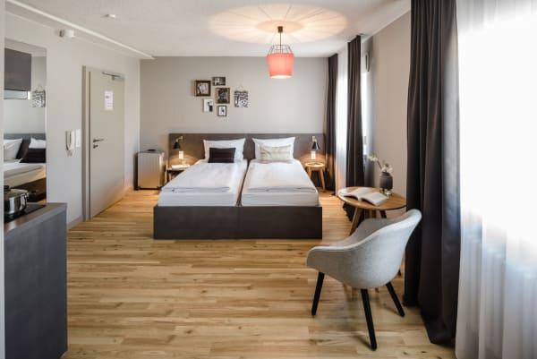 Im Frankfurter Gallusviertel eröffneten die Bold Apartments.