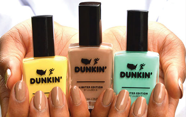 Dunkin' Donuts pivots to coffee-themed nail polish