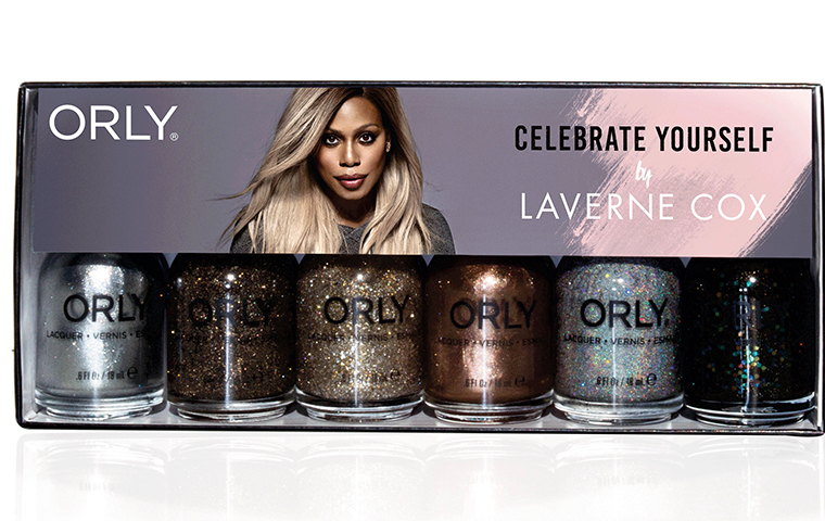 Laverne Cox launches an addictive nail polish collection