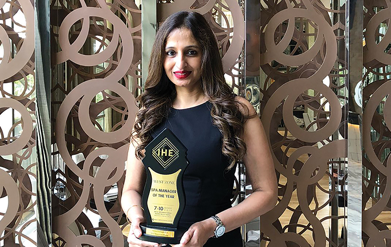JW Marriott Pune's Anna Fernandes awarded Spa Manager of the Year at IHE '19