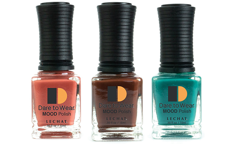 LeChat introduces 'Dare to Wear Mood' nail lacquers