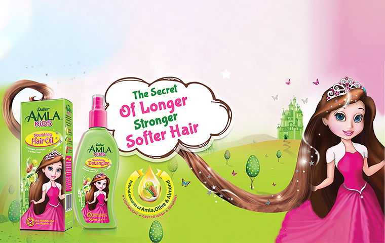 Dabur launches an online-only hair care line for kids
