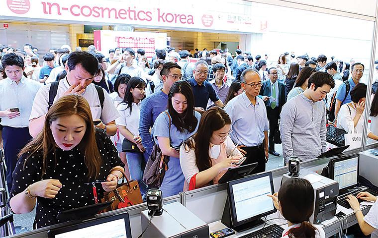 In-Cosmetics Korea receives great footfall