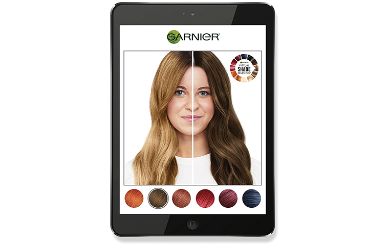 L'Oréal owned Garnier teams up with Modiface to launch a new hair colour app