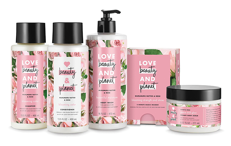 Unilever launches new 'sustainable' cosmetics range