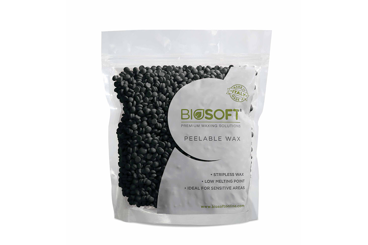 Biosoft Charcoal Peelable Wax