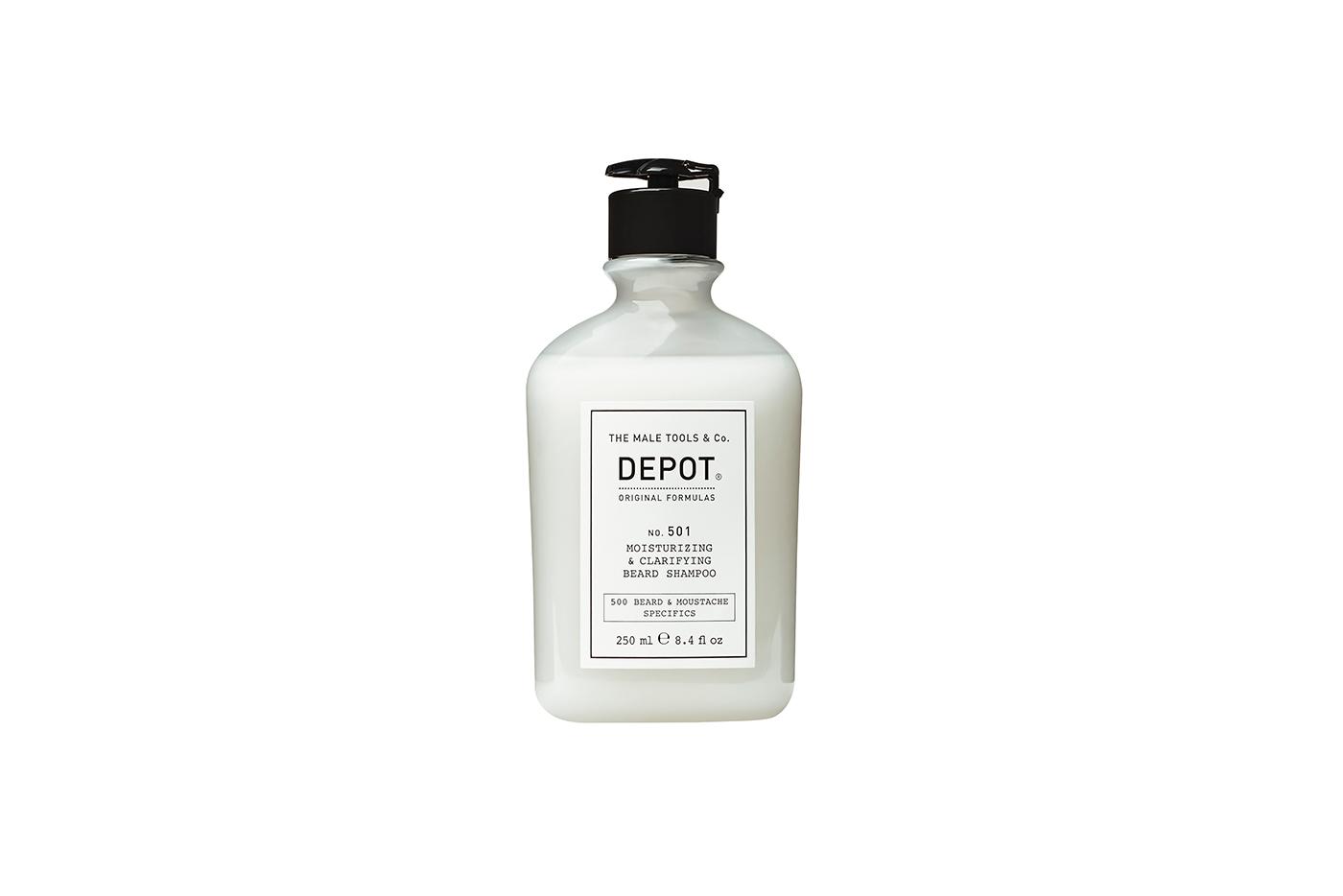 Depot No. 501 Moisturizing & Clarifying Beard Shampoo