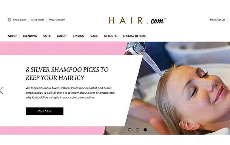L'Oréal USA partners with the industry's top hairstylists to unveil Hair.com