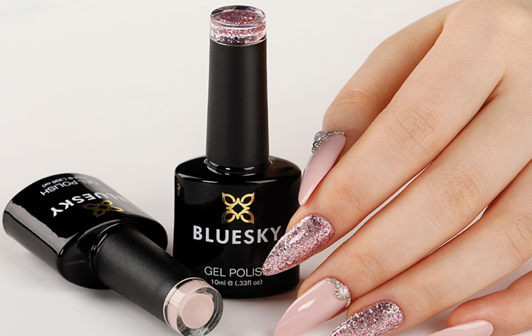 Get in trend with the Bluesky gel polish