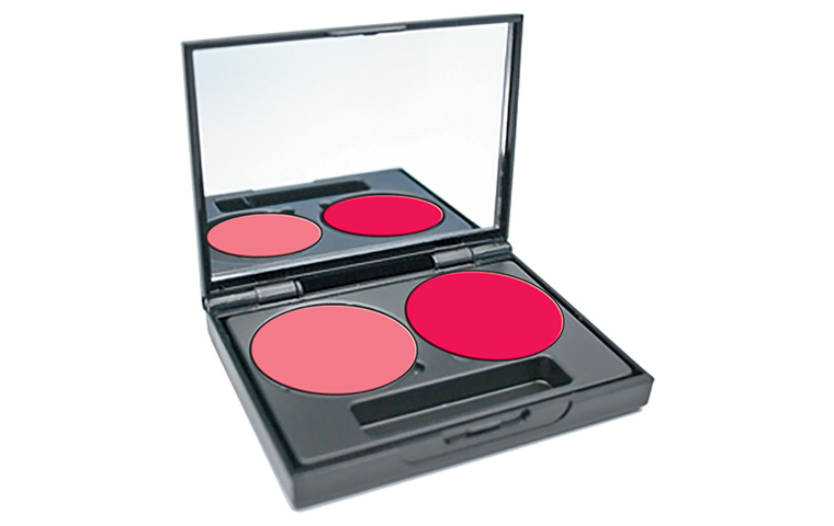Get with the latest beauty trend with Cream Blusher Palette
