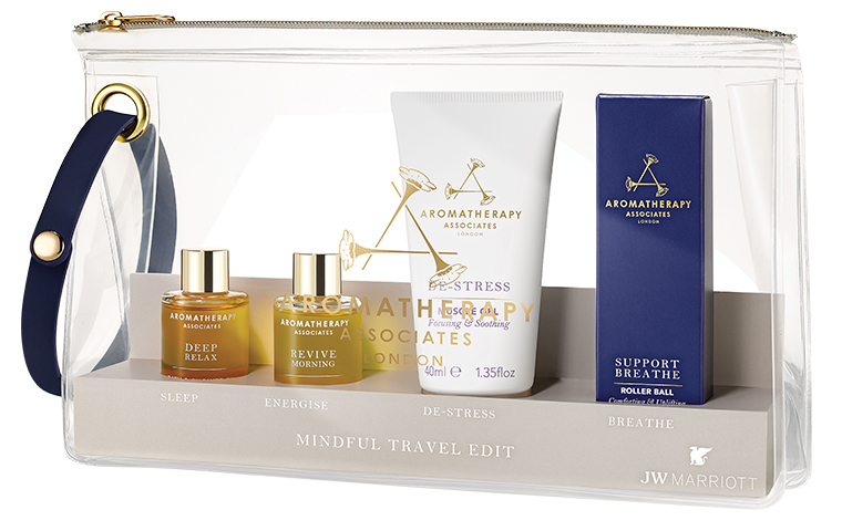 JW Marriott launches spa products for travel