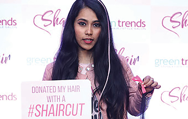 CavinKare's Green Trends conducts hair donation drive