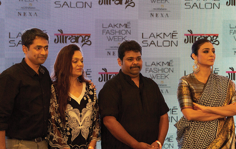 Lakmé Salon and Gaurang Shah spice it up at LFW 2020