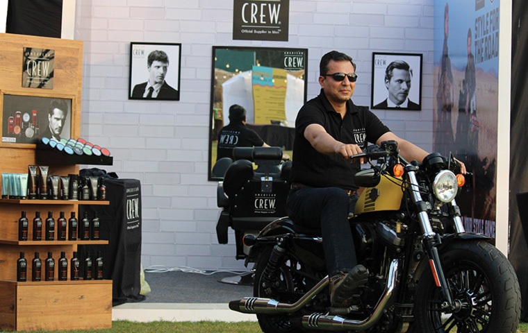 American Crew hits the road with Harley-Davidson