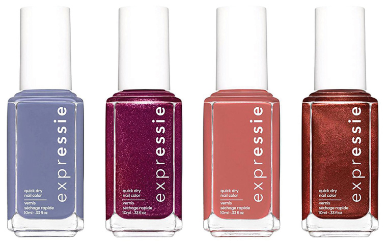 Introducing quick-dry Essie Expressie collection…