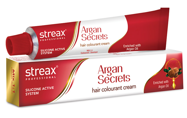 Silicone Active system and Argan Oil adds Shine to your Hair!
