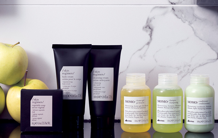 W Hotels and Davines Group collaborate to launch eco-friendly amenity line