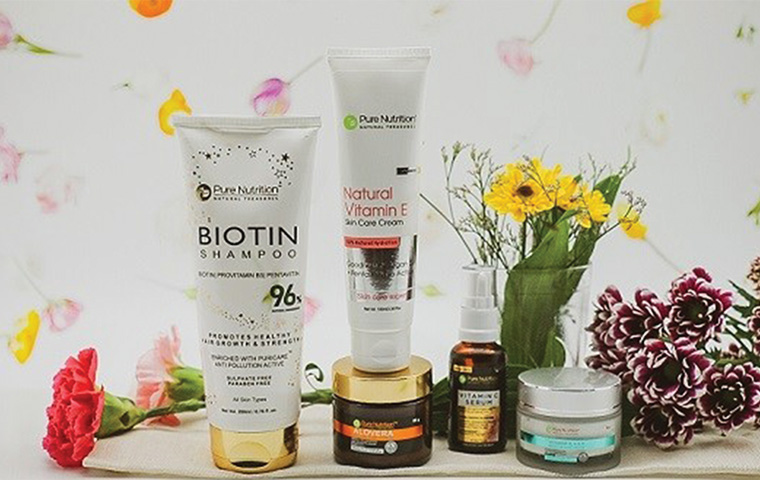 Pure Nutrition unveils a range of beauty products