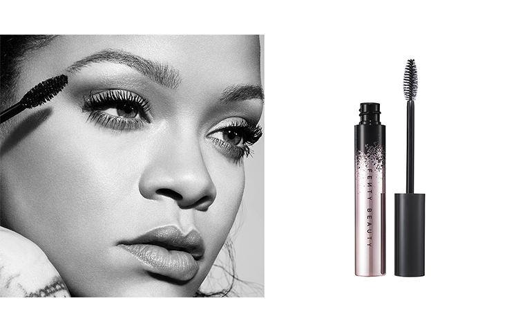Fenty beauty launches new eyeshadow and mascara
