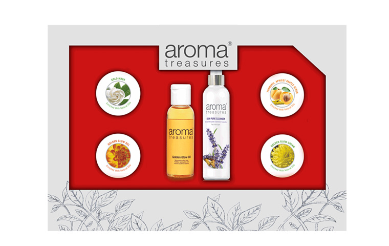Breathe life into skin with Aroma Treasures
