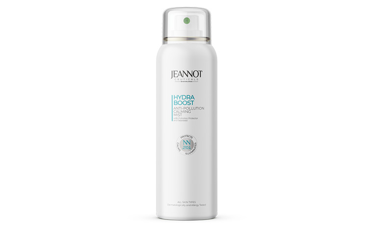 Jeannot Ceuticals presents anti-pollution mist for skin