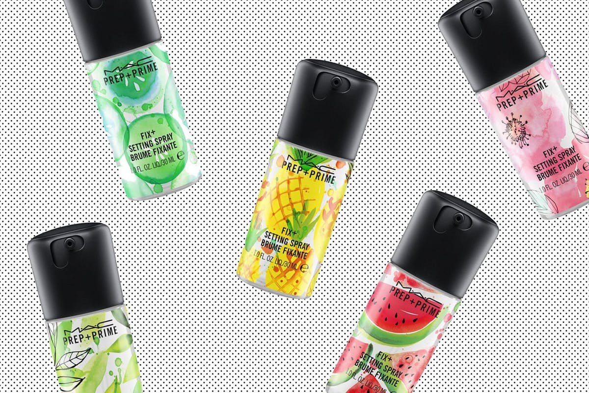 1. Mac launches a set of makeup sprays to hydrate the skin this summer