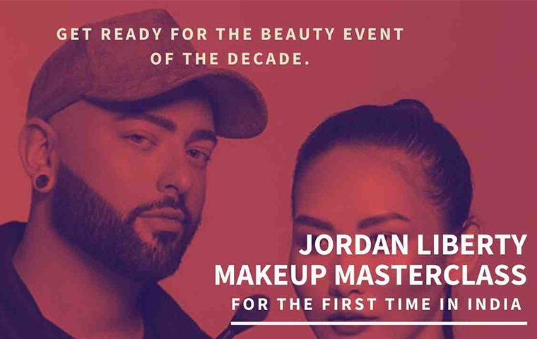 Jordan Liberty conducts first-ever beauty masterclass in India