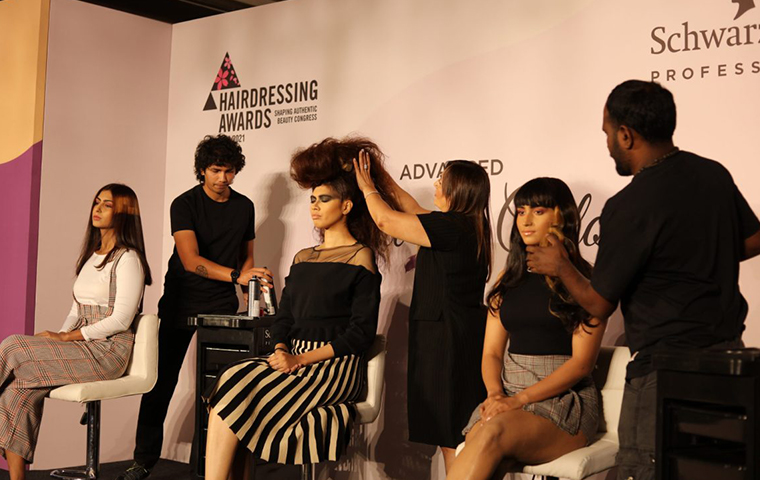 Schwarzkopf Professional India hosted prestigious hairdressing competition